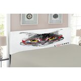 Cat Upholstered Panel Headboard by East Urban Home