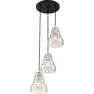 Theriot 3-Light Cluster Pendant by Wrought Studio
