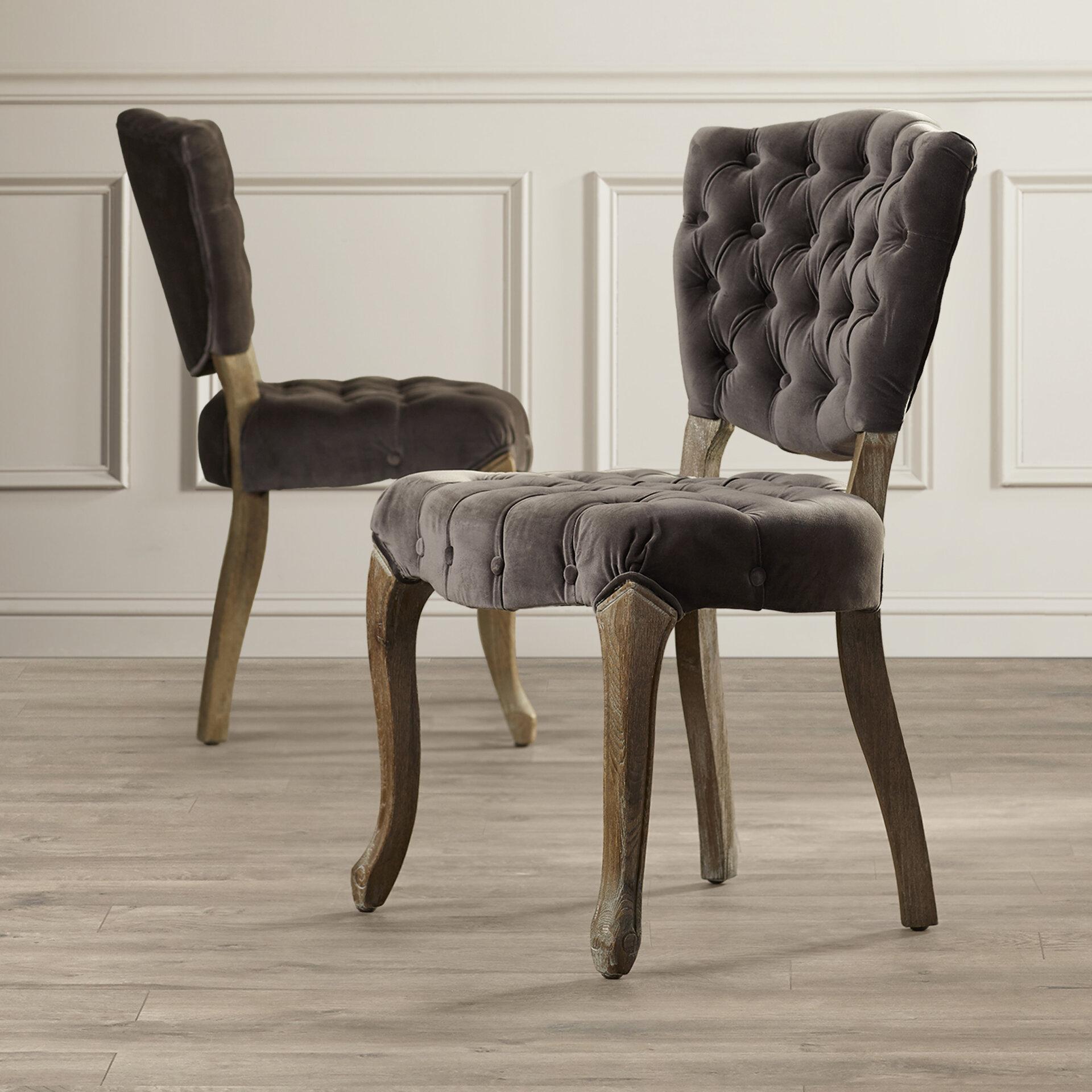 Excellent Therrien Upholstered Dining Chair Short Links Chair Design For Home Short Linksinfo