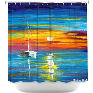 Lost at Sea Single Shower Curtain