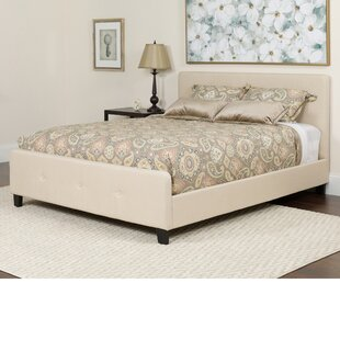 Konen Tufted Upholstered Platform Bed With Mattress