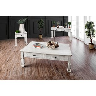 Christa 3 Piece Coffee Table Set