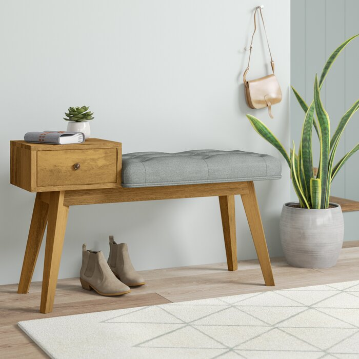 Miraculous Wood Storage Hallway Bench Pdpeps Interior Chair Design Pdpepsorg