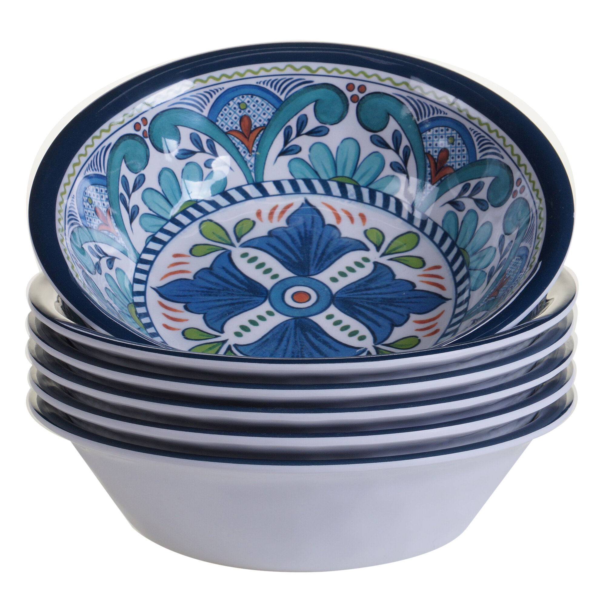 World Menagerie Bezu 30 Oz Melamine Salad Bowl Reviews Wayfair
