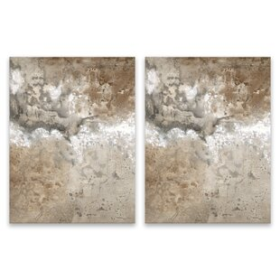 Silver Glitter Wall Art Wayfair