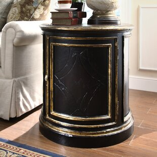 Aspen Road End Table with Storage by East..