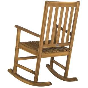 Barstow Teak Rocking Chair