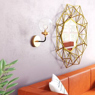 Claudio 1-Light Armed Sconce