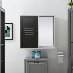 Henline 60cm X 57cm Surface Mount Mirror Cabinet By Belfry Bathroom