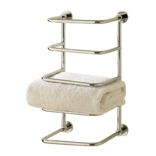 Valsan Essentials 4 Tier Wall Mounted Towel Rack