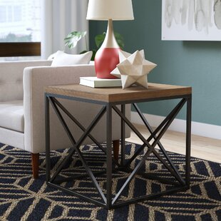 Read Reviews Goodlow End Table ByMercury Row