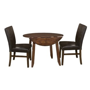 Whisenhunt 3 Piece Extendable Dining Set Millwood Pines