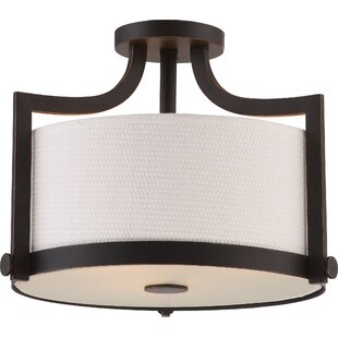 Bullen 3-Light Semi Flush Mount by Three Posts