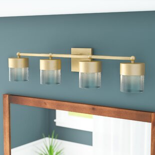Price comparison Ozella 4-Light Vanity Light By Everly Quinn