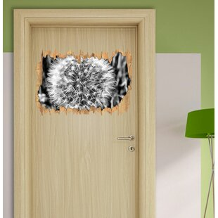 Classic Dandelion Wall Sticker By East Urban Home