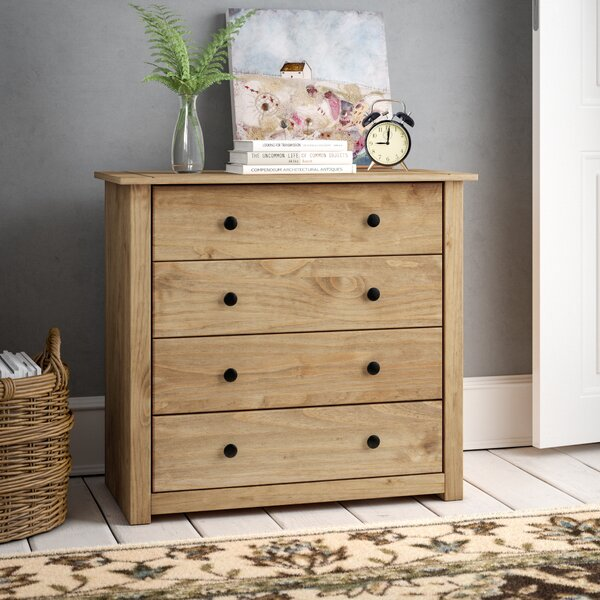 Andover Mills Cayuga 4 Drawer Chest Amp Reviews Wayfair Co Uk