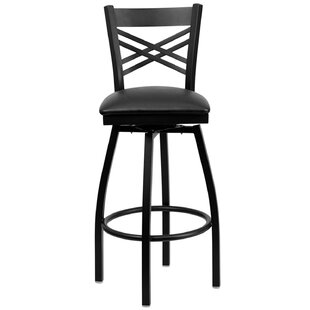 Lomonaco 32 Swivel Bar Stool Winston Porter