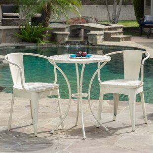 Mercury Row Biles 3 Piece Bistro Dining Set