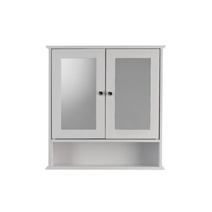 Anderson Double Mirror Door 58cm X 56cm Surface Mount Mirror Cabinet By Belfry Bathroom