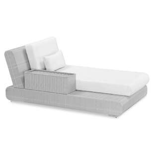 Sumba Lounge Bed Sectional Piece with Cushions