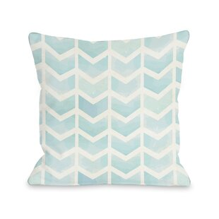Waterfall Chevron Throw Pillow