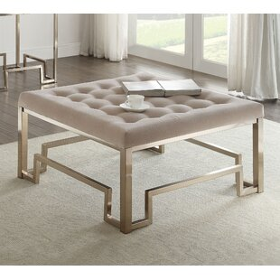Everly Quinn Cullompt Fabric Coffee Table