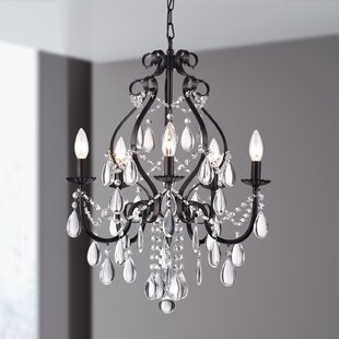House of Hampton Axl 5-Light Candle Style Chandelier