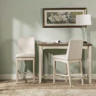 Kinsey Country 3 Piece Dining Set Rosecliff Heights