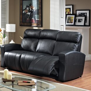 Compare prices Vuelta Leather Reclining Sofa by Relaxon Reviews (2019) & Buyer's Guide