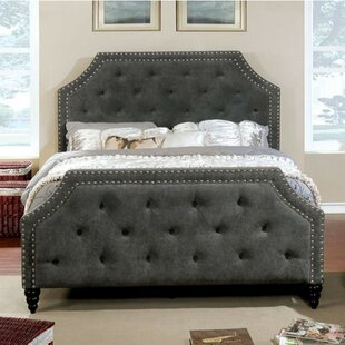 Liriano Contemporary California King Upholstered Panel Bed