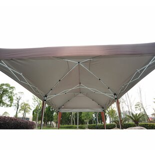 20 Ft. W x 10 Ft. D Steel Pop-Up Party Tent by Outsunny