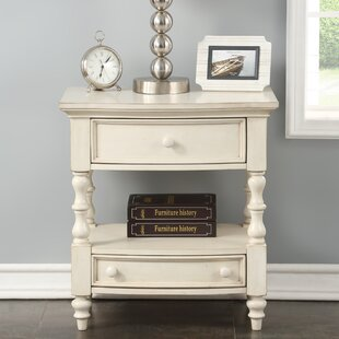 Ophelia & Co. Rayshawn 2 Drawer Nightstand