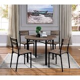 Taylor 5 Piece Dining Set by 17 Stories