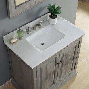 Loon Peak Rundall Single Bathroom Vanity Set