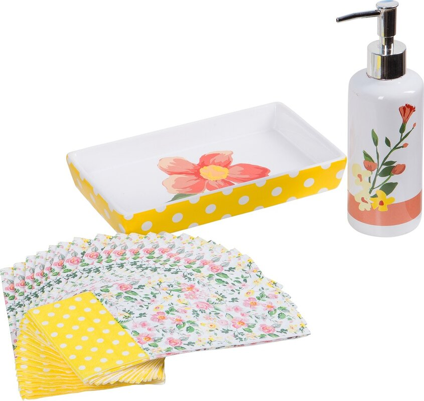 Yellow Bathroom Accessories Youu0027ll Love | Wayfair