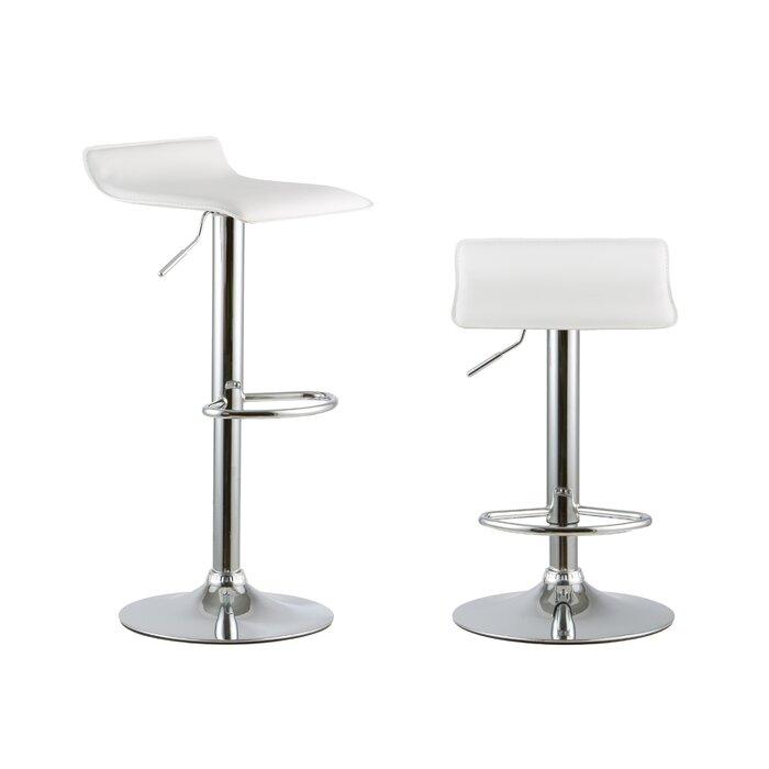 Astonishing 2 Piece Adjustable Height Swivel Bar Stool Set Uwap Interior Chair Design Uwaporg