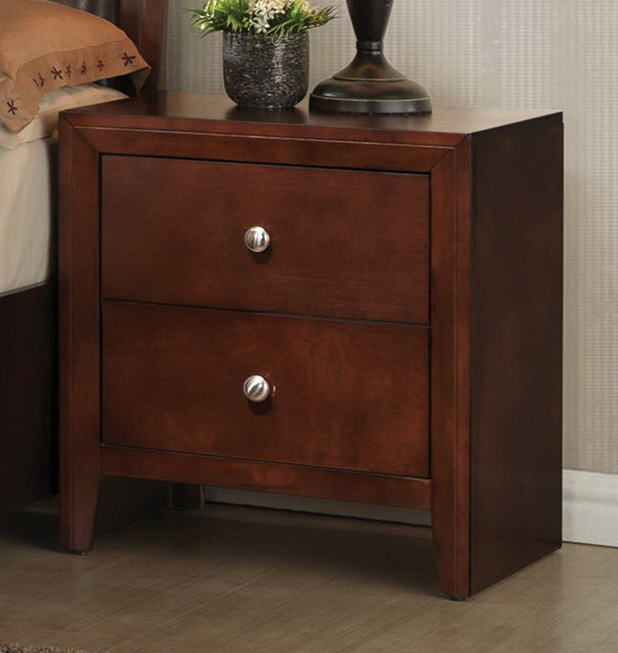 Alexei 2 Drawer Nightstand