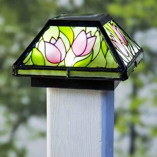 Plow & Hearth 1-Light LED Fence Post Cap