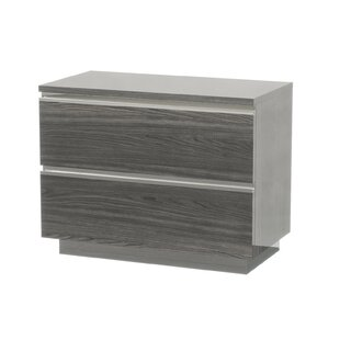 Doric 2 Drawer Nightstand