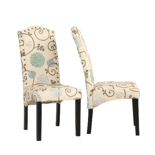 Hesser Upholstered Dining Chair Set of 2 by Ophelia amp Co