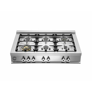 Pro Series 36 inch  Gas Cooktop with 6 Burners