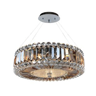 Allegri by Kalco Lighting Luxor 3-Light Crystal Chandelier