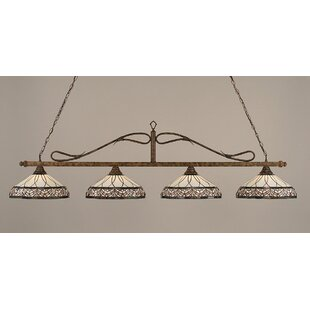 Fleur De Lis Living Reba 4-Light Billiard Light