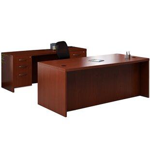 Aberdeen Series 2-Piece Standard Desk Office Suite by Mayline Group
