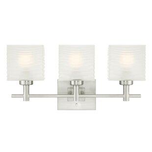 Ebern Designs Oralia 3-Light Vanity Light