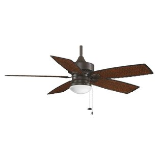 Read Reviews 52 Cancun 5 Blade Outdoor LED Ceiling Fan By Fanimation
