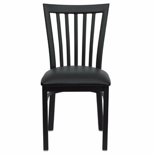 Charlton Home Duprey Side Chair with Slat Back