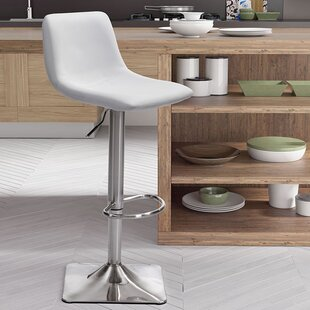 Boomer Adjustable Height Swivel Bar Stool