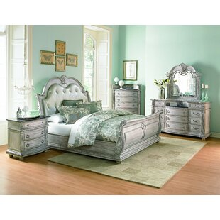 Astoria Grand Toddington Upholstered Sleigh Bed