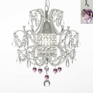 Willa Arlo Interiors Evon 1-Light Crystal LED Crystal Pendant